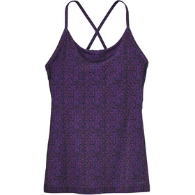 Patagonia Cross Beta Tank Women Batik Hex Micro: Ikat Purple